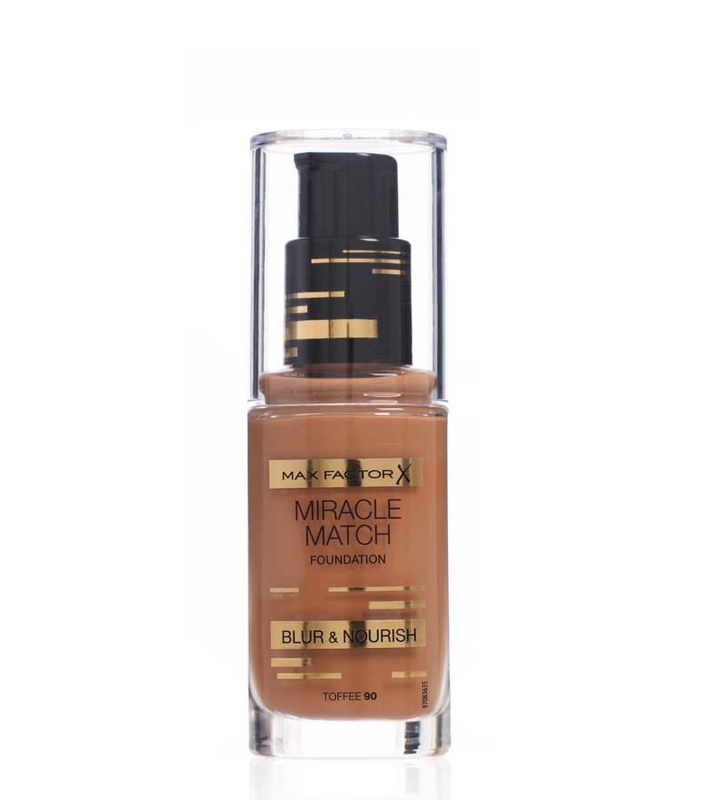 Max Factor Miracle Match Foundation Toffee 090