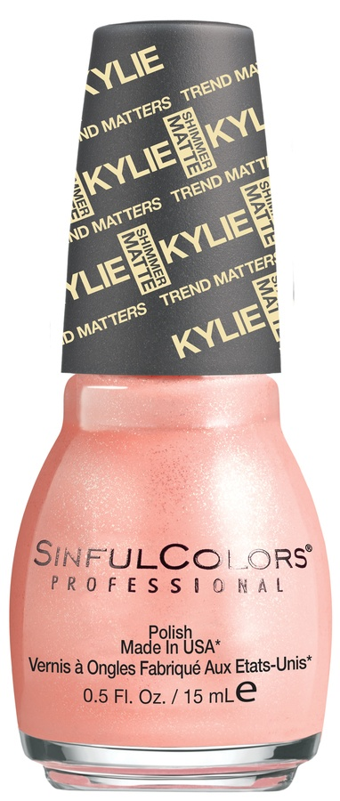 Kylie Jenner Sinful Colors Trend Matters V.I.Peach #2087 15ml