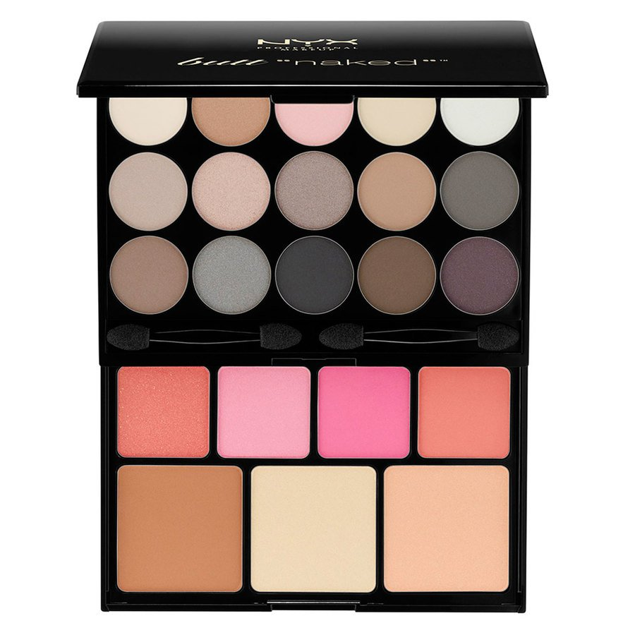 NYX Prof. Makeup Butt Naked Eyes Makeup Palette S122