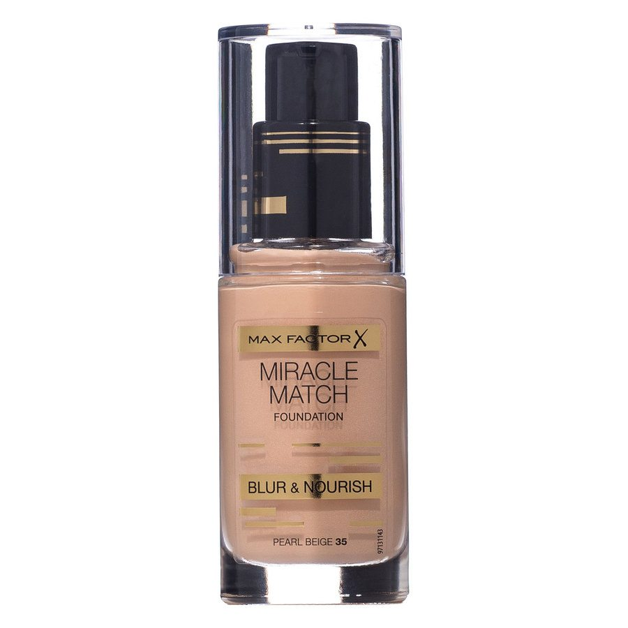 Max Factor Miracle Match Foundation Pearl Beige 035 30ml