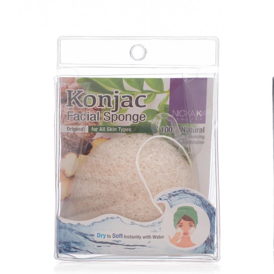 Nicka K New York Konjac Sponge Original
