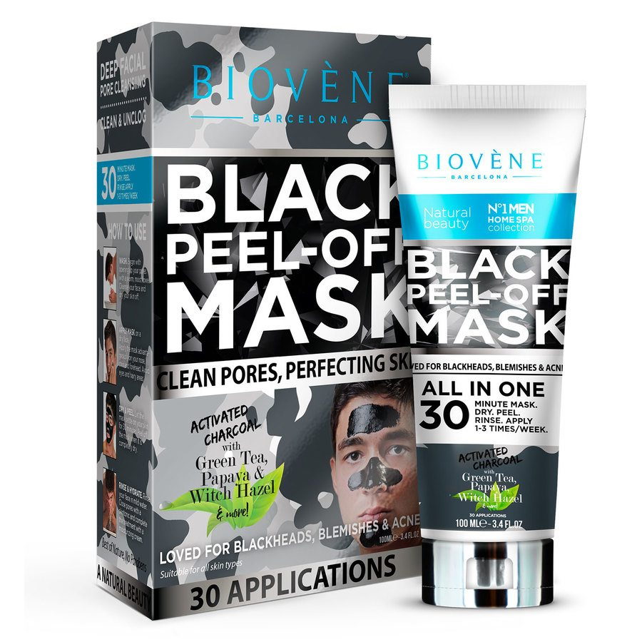 Biovène Black Peel-Off Mask Men 100ml