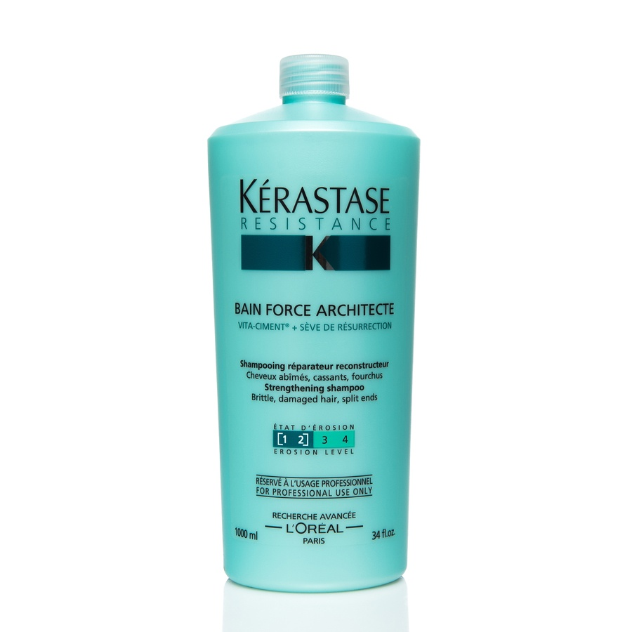 Kérastase Resistance Bain Force Architecte Shampoo 1000ml