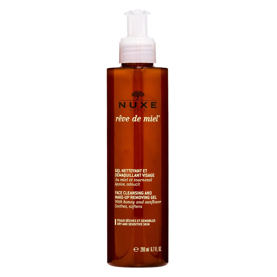 Nuxe  Rêve De Miel Face Cleansing And Make-Up Removing Gel 200ml