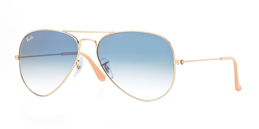 Ray Ban 001/3F58 Aviator Large Metal
