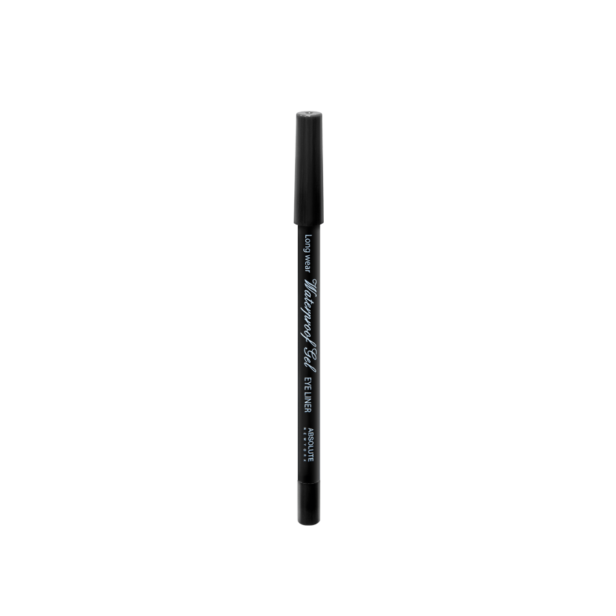 Absolute New York Waterproof Gel Eye Liner Black NFB78