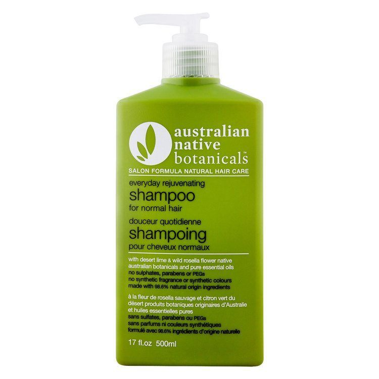 Australian Native Botanicals Everyday Rejuvinating Shampoo For Normal Hair 500ml