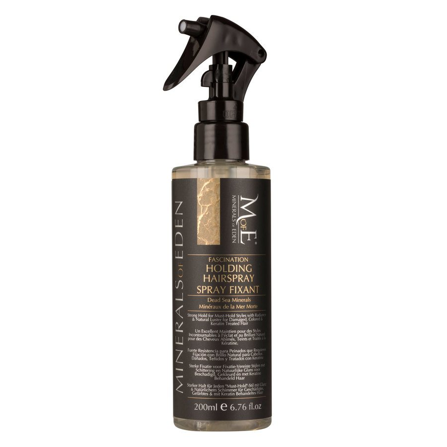 Minerals Of Eden Fascination Holding Hairspray Strong 200ml