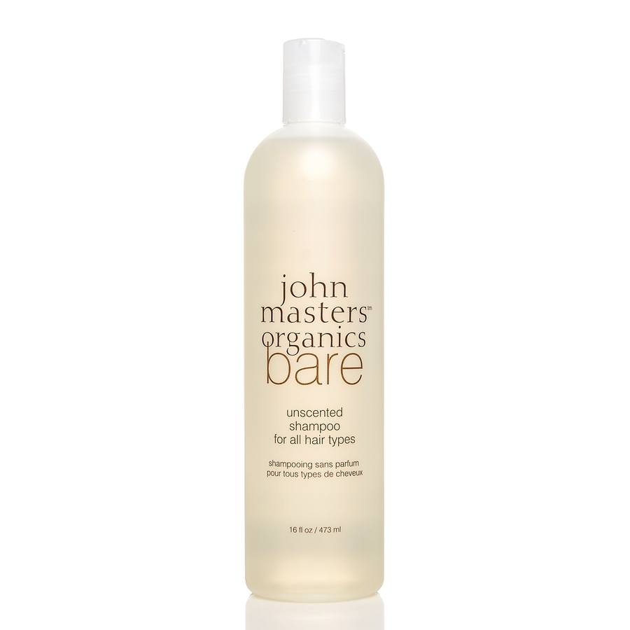 John Masters Organics Bare Unscented Shampoo for All Hair Types 473ml