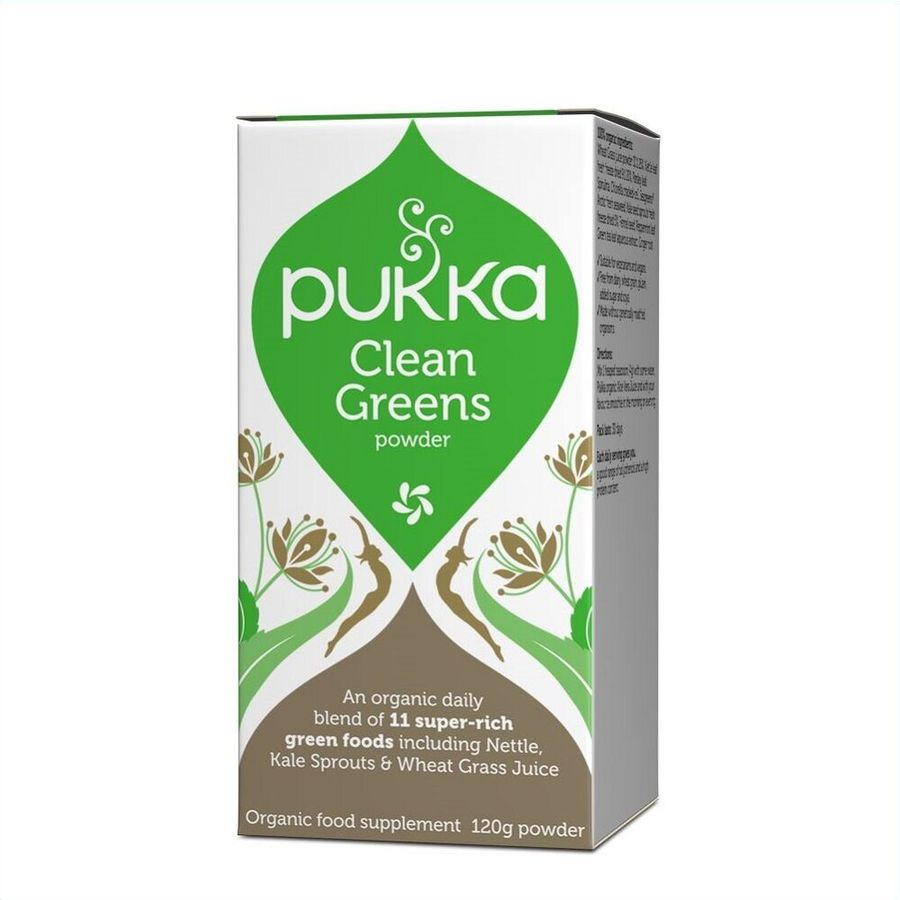 Pukka Clean Greens Powder 120gr