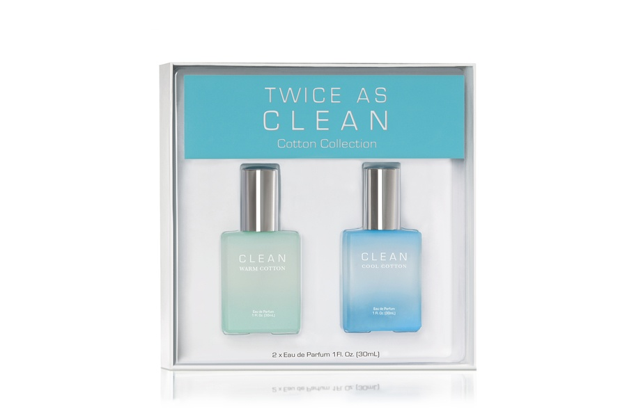 CLEAN Twice As Clean Cotton Collection 2x30ml