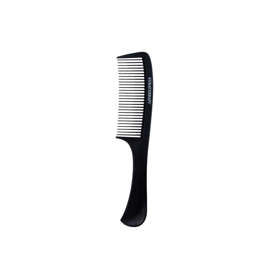 Keratherapy Heat Resistant Carbon Wide Tooth Comb Black