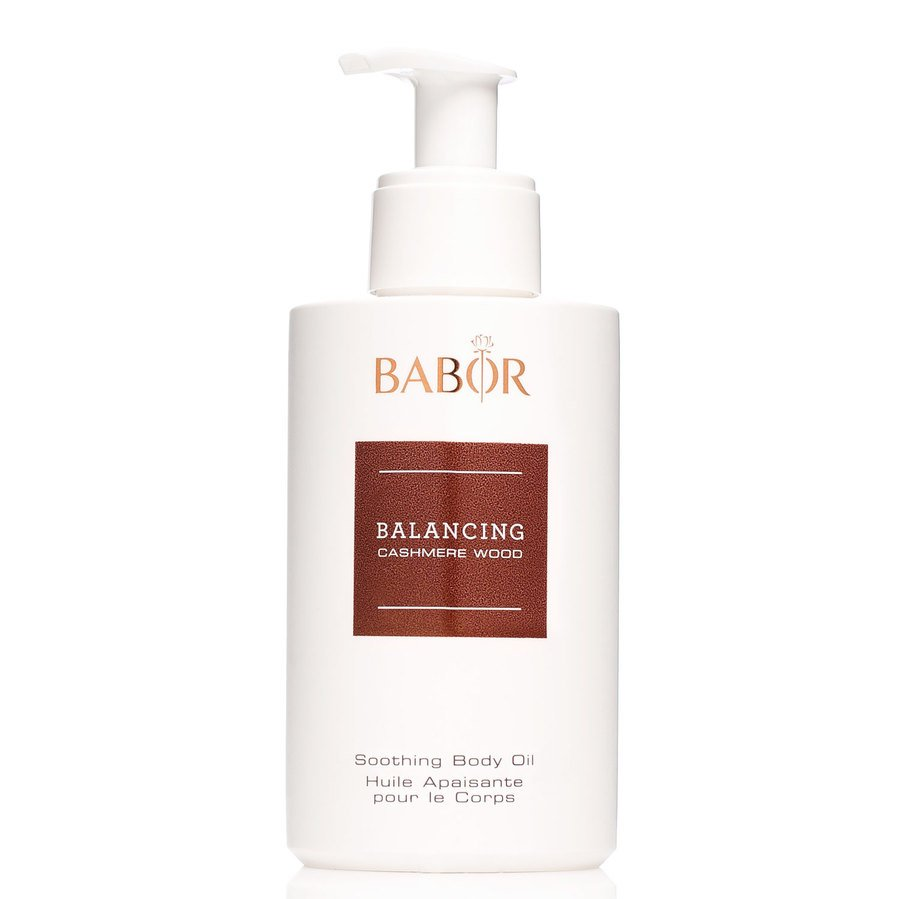 Babor Balancing Cashmere Wood Soothing Body Oil 200ml
