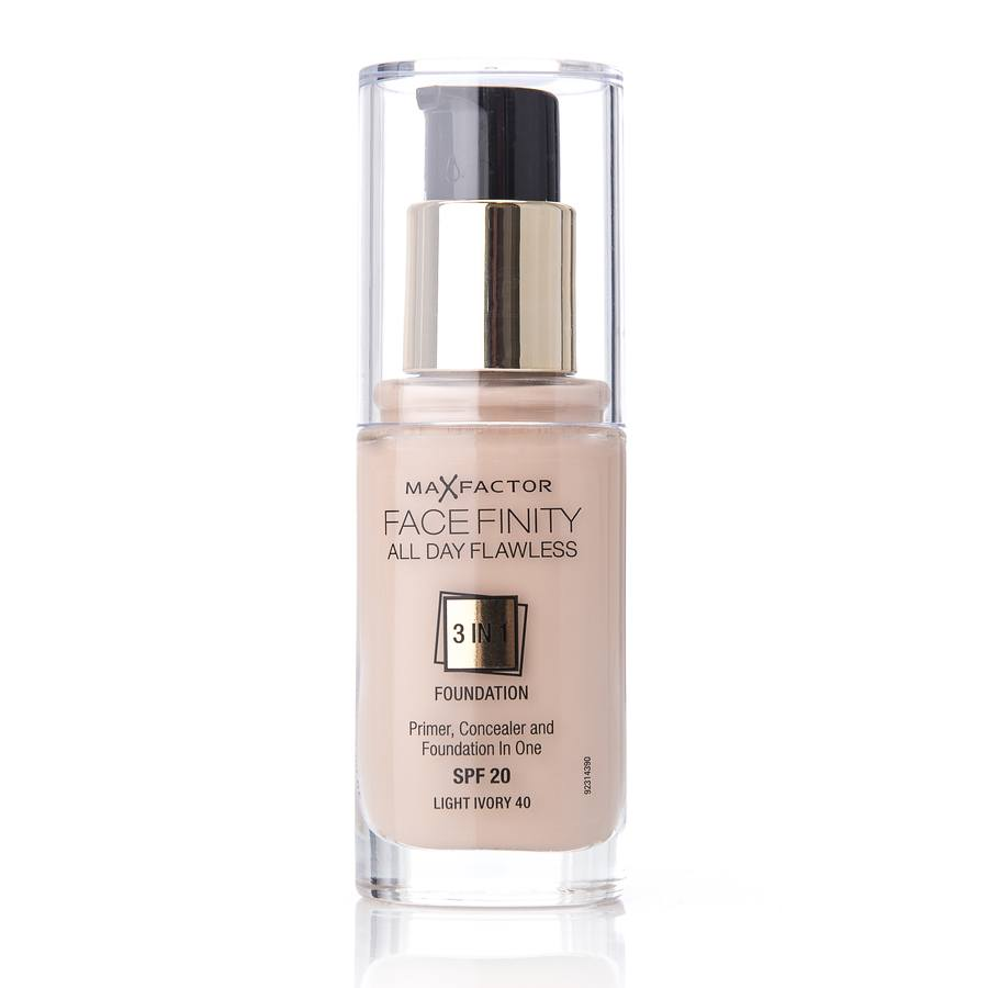Max Factor Facefinity 3 In 1 Foundation 40 Light Ivory 30ml