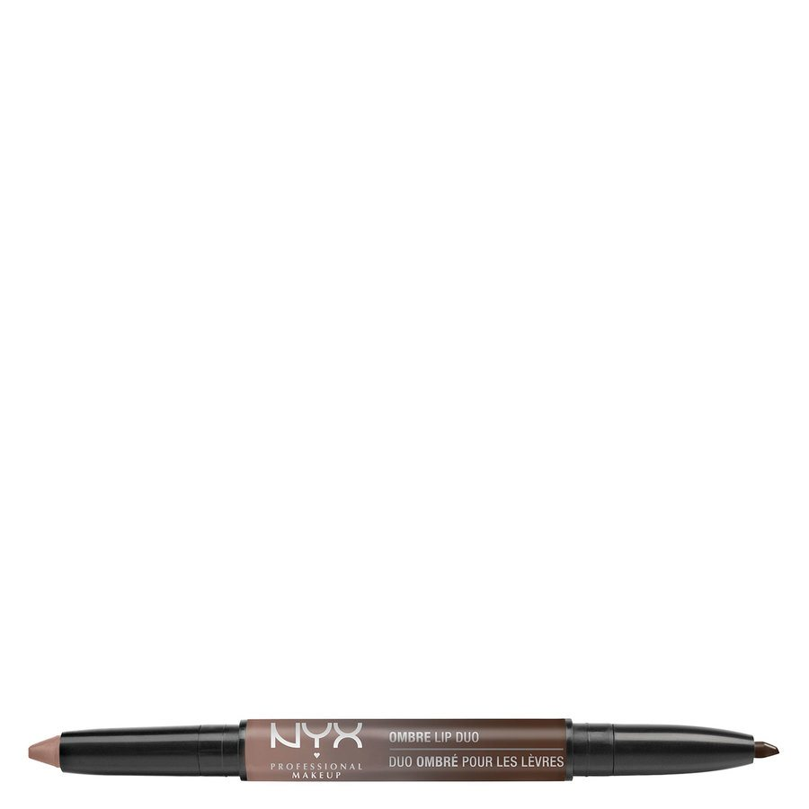 NYX Professional Makeup Ombre Lip Duo Lipstick & Lipliner Old06 Cookies & Cream