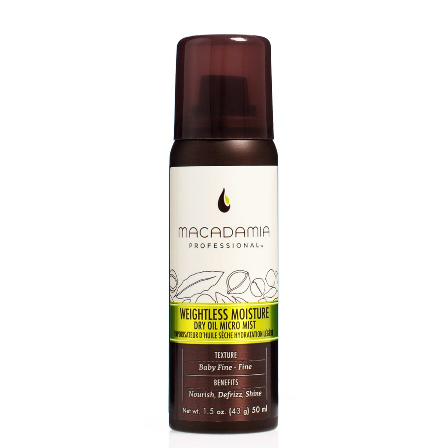Macadamia Professional Weightless Moisture Dry Oil Micro Mist 50ml