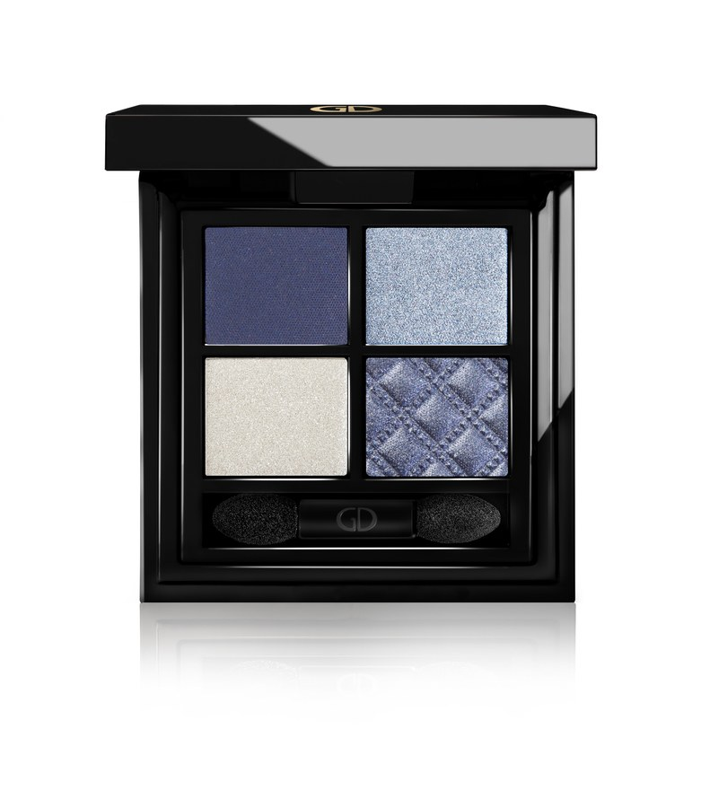 Ga-De Idyllic Soft Satin Eyeshadow Palette No.39 Denim Blue