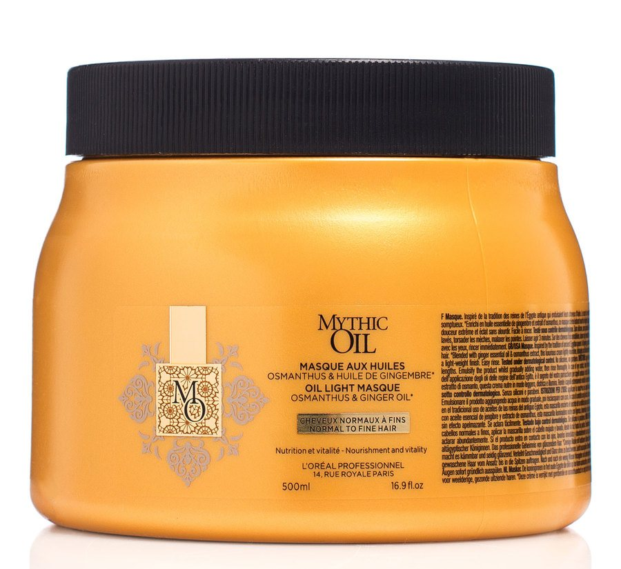L'Oréal Professionnel  Mythic Oil Masque Normal To Fine Hair 500ml