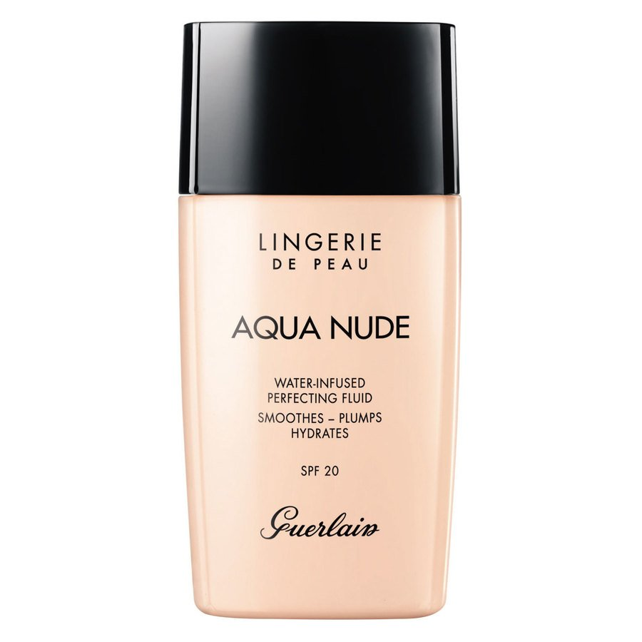 Guerlain Lingerie De Peau Aqua Nude Foundation #01N Very Light 30ml