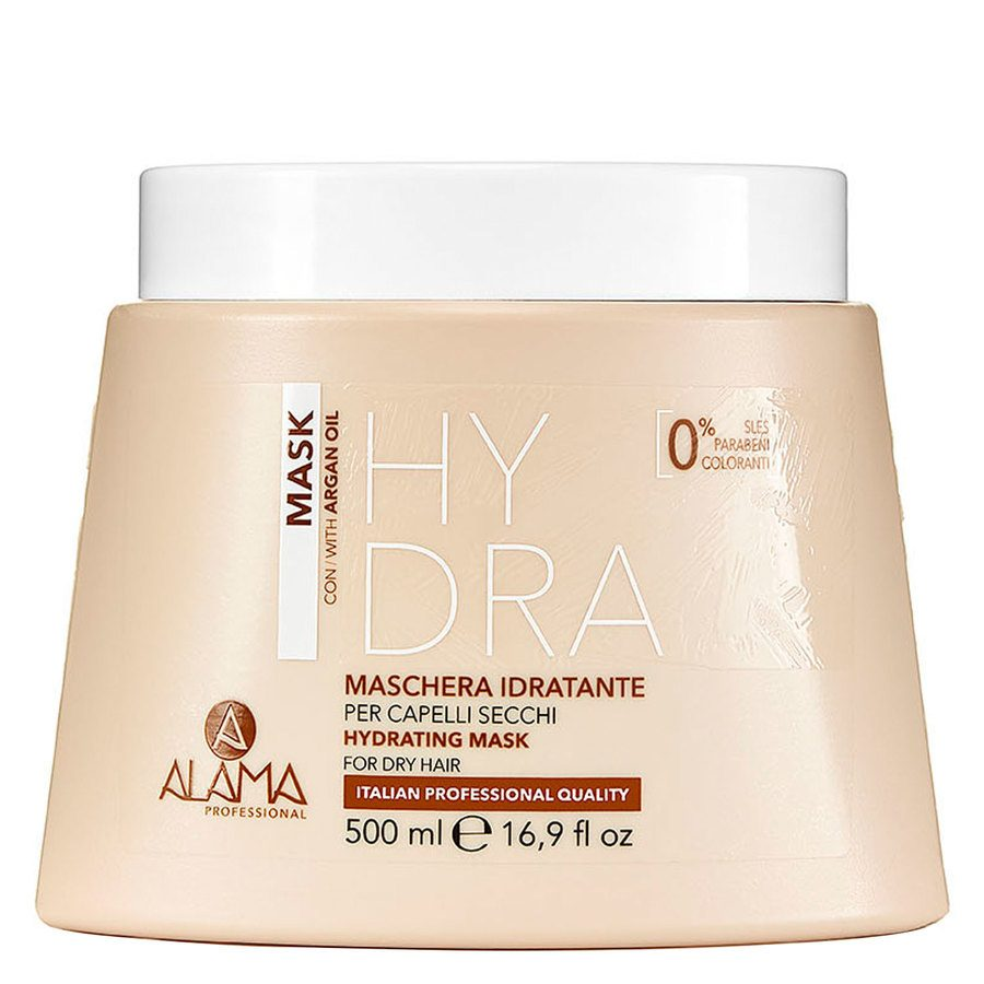 Alama Professional Hydrating Mask For Dry Hair 500ml
