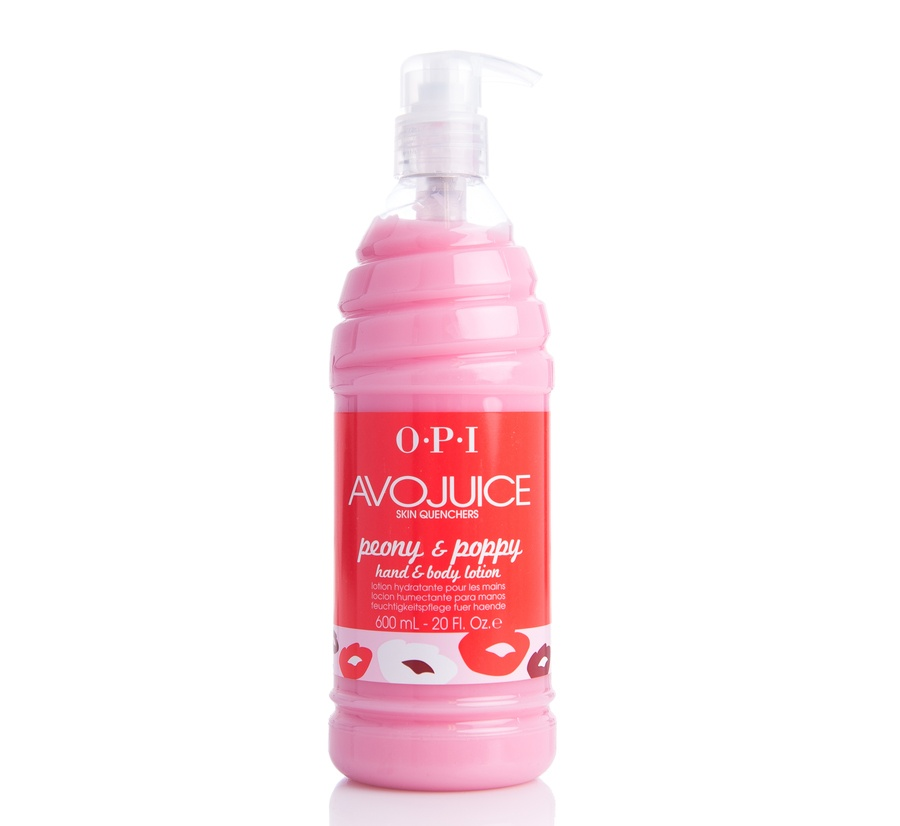 OPI Avojuice Hand & Body Cream Peony & Poppy 600ml