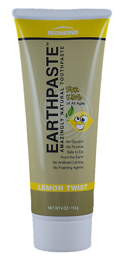 Redmond Earthpaste Tannpasta Lemon Twist