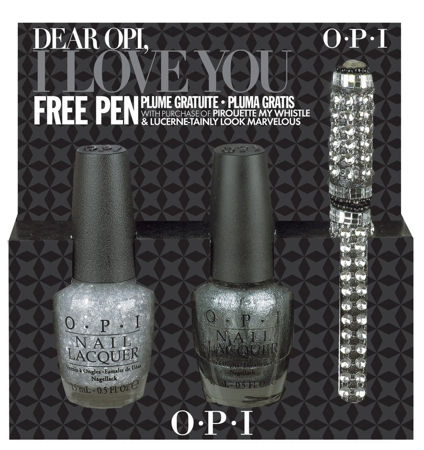 OPI Dear OPI I Love You (Pirouette My Whistle & Lucerne-Tainly Look Marvelous) 2 x 15ml