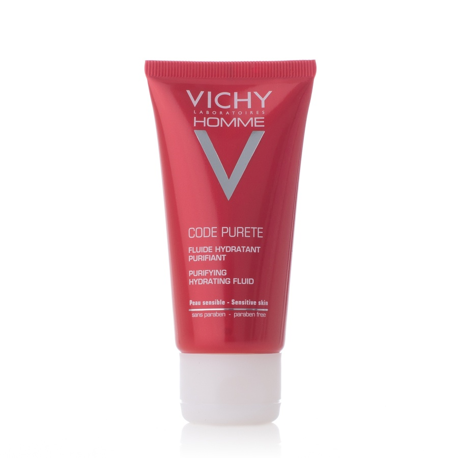 Vichy Homme Code Purete Purifying Hydrating Fluid 50ml