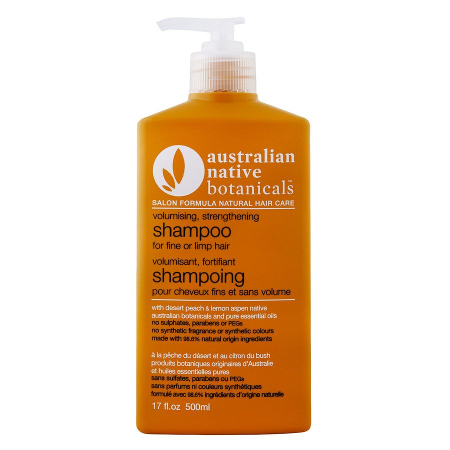 Australian Native Botanicals Volumising & Strengthening Shampoo 500ml