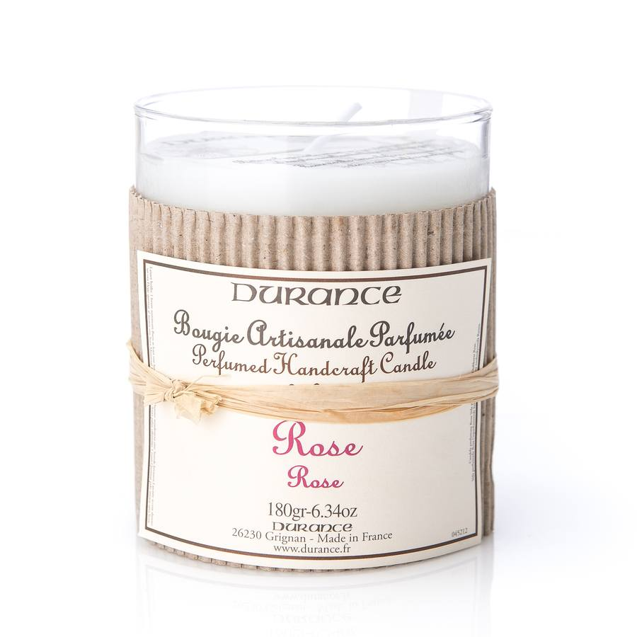 Durance Perfumed Handcraft Candle Rose