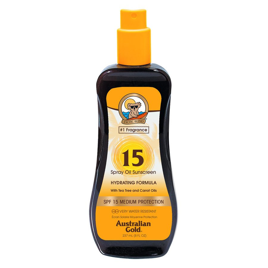 Australian Gold SPF 15 Carrot Intensifier Oil Spray 237ml