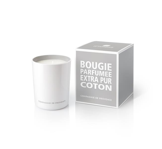 Compagnie De Provence Scented Candle Cotton Flower 180g