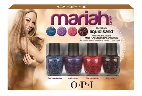 OPI Mariah Carey Liquid Sand Minis  4 x 3,75ml