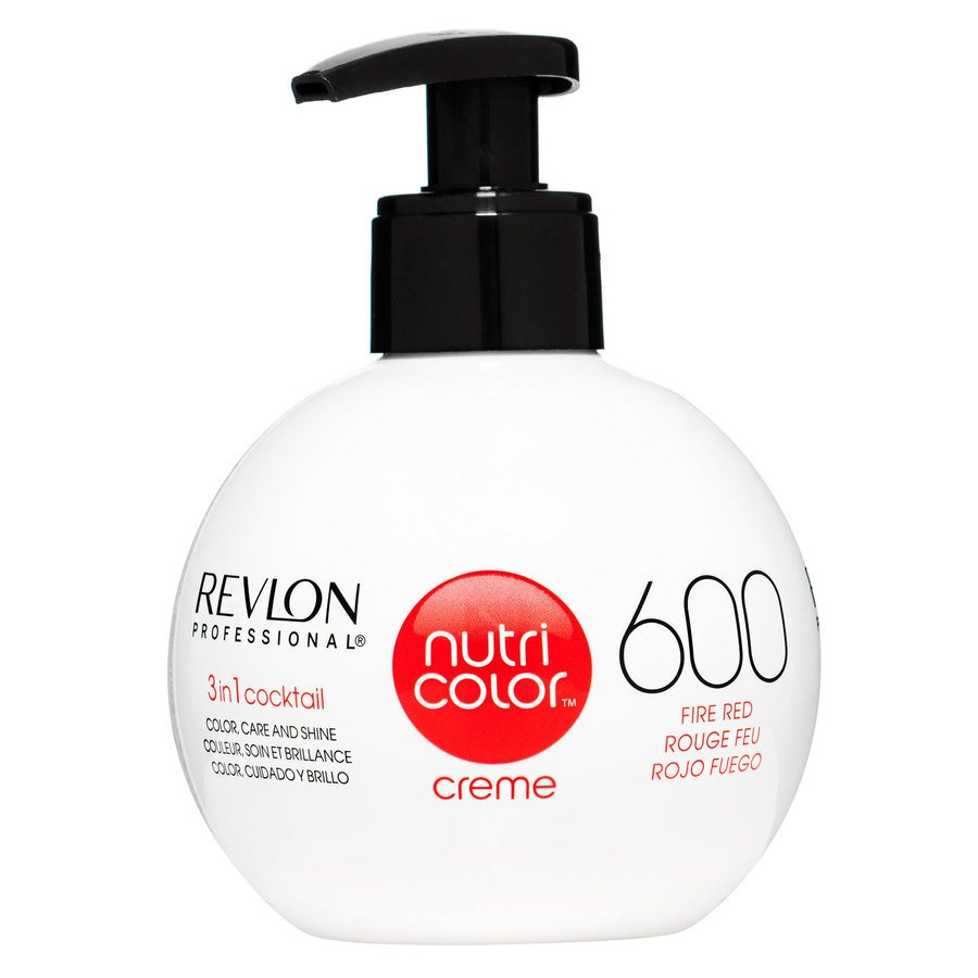 Revlon Professional Nutri Color Creme 270ml #600 Fire Red