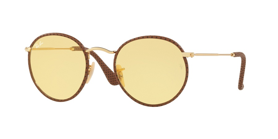 Ray Ban Round Craft 0RB3475Q Gold/Brown