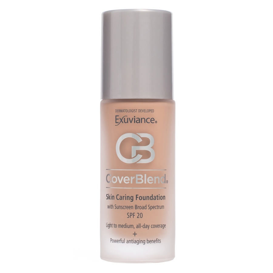 Exuviance CoverBlend Skin Caring Foundation SPF 20 True Beige 30ml