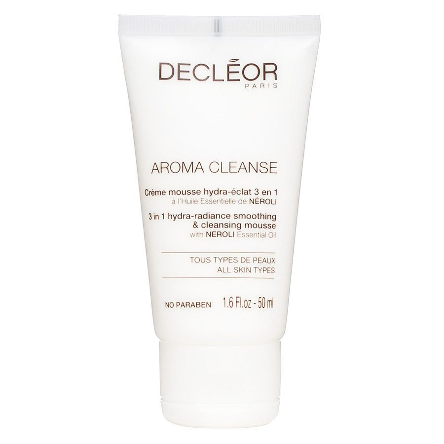 Decléor Aroma Cleanse 3 In 1 Hydra-Radiance Smoothing & Cleansing Mousse Mini 50ml