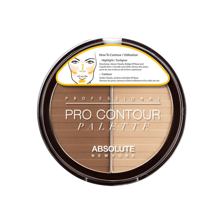 Absolute New York Pro Contour Palette Light APC01