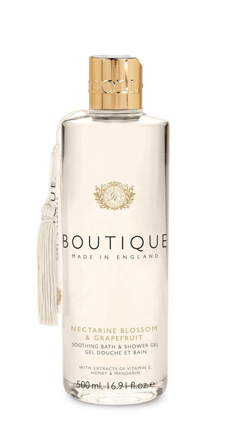 Grace Cole The Boutique Bath & Shower Gel Nectarine Blossom & Grapefruit 500ml