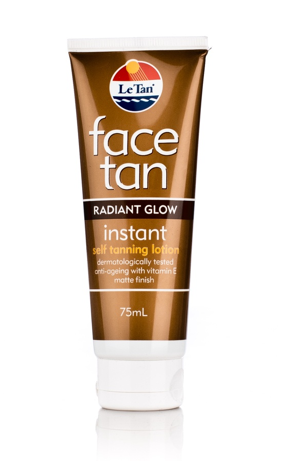 Le Tan Instant Face Tan Radiant Glow 75ml