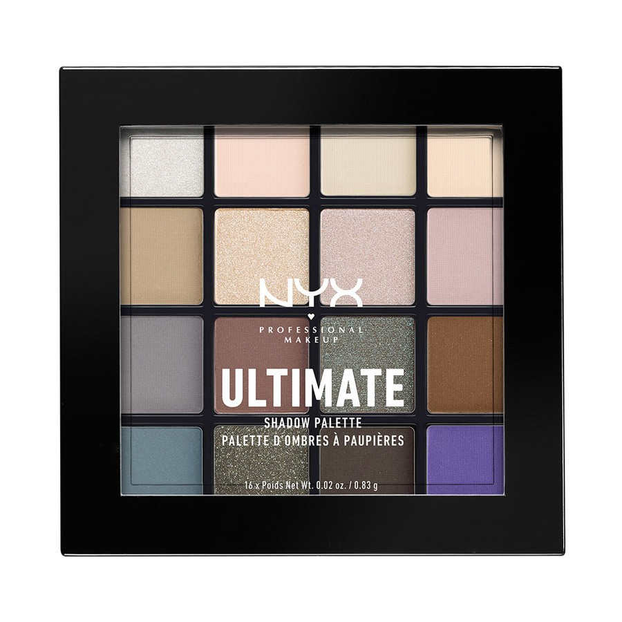 NYX Professional Makeup Ultimate Eyeshadow Palette Cool Neutrals USP02