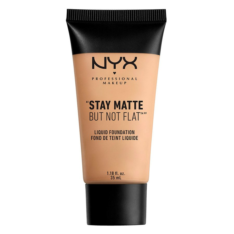 NYX Professional Makeup Stay Matte But Not Flat Liquid Foundation Nude 35ml