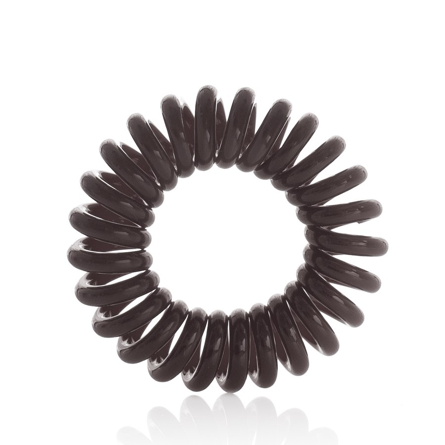 Invisibobble Brown Hair Rings Chocolate Brown 3stk