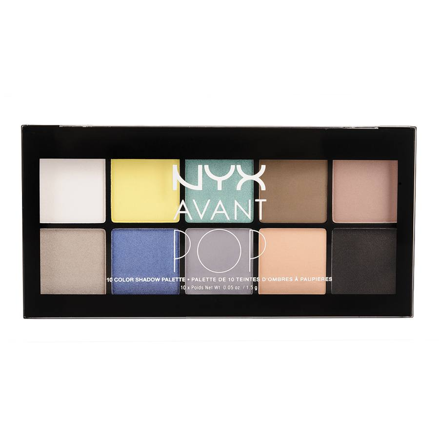 NYX Prof. Makeup Avant Pop 10 Color Shadow Palette My Heart
