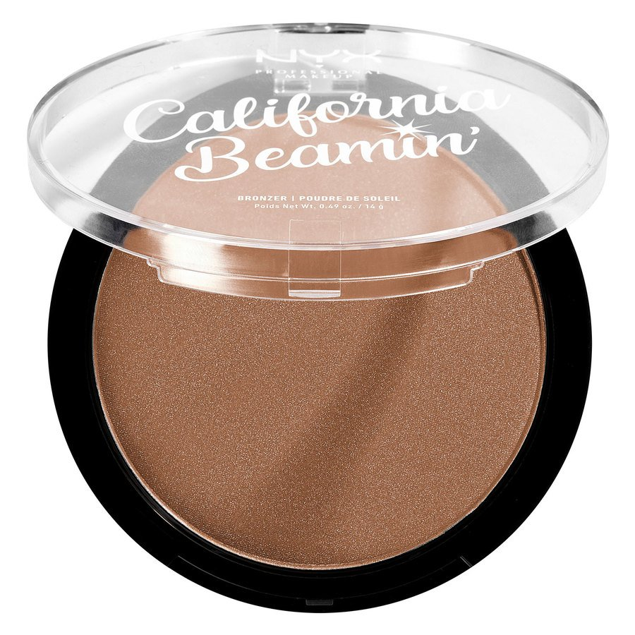 NYX Professional Makeup California Beamin' Face & Body Bronzer Golden State 14g