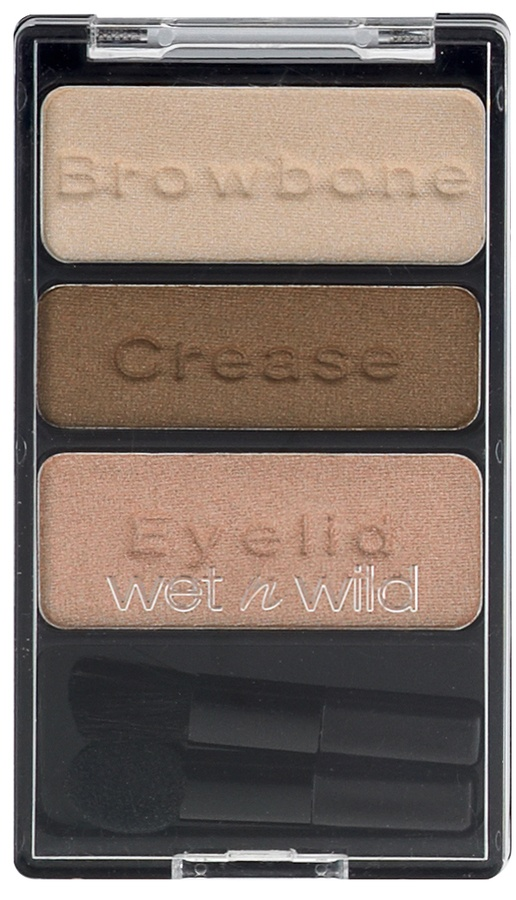 Wet`n Wild Color Icon Eyeshadow Trio Walking on Eggshells E380B