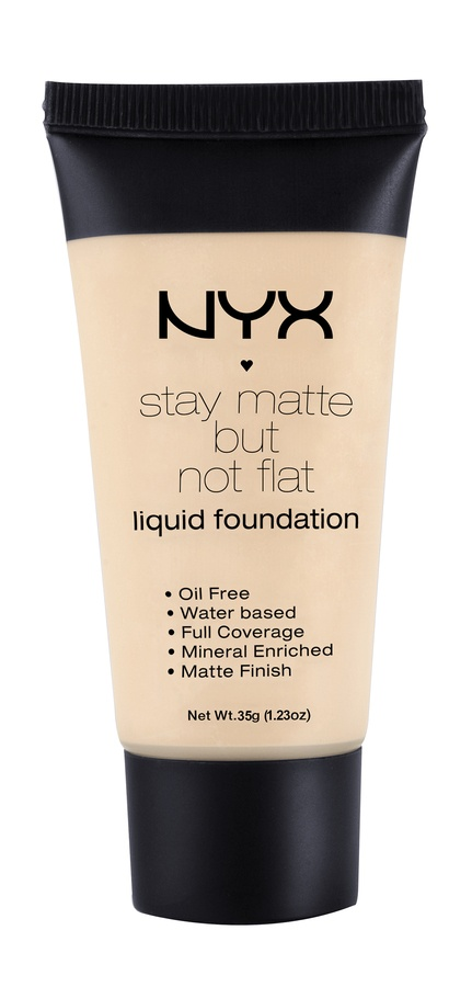 NYX Stay Matte But Not Flat Liquid Foundation Ivory 35ml SMF01