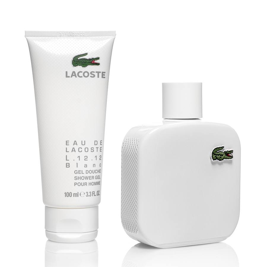 Lacoste Eau De Lacoste Collection Voyage Blanc Gift Set