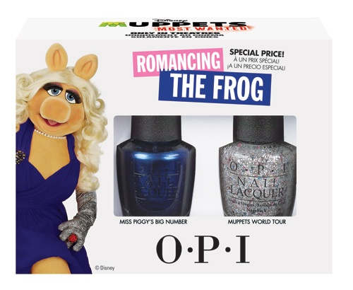 OPI Muppets Most Wanted Collection Romancing The Frog 2 x 15ml
