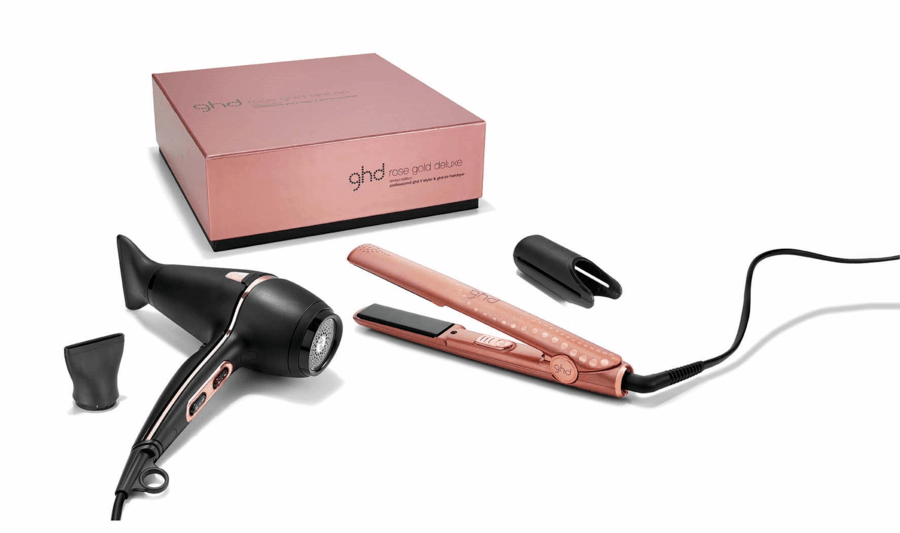 Ghd Rose Gold Deluxe 2 Deler